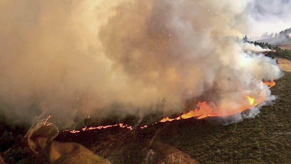 Extinguidos los incendios de Os Ancares, Fonsagrada, Navia y Courel.