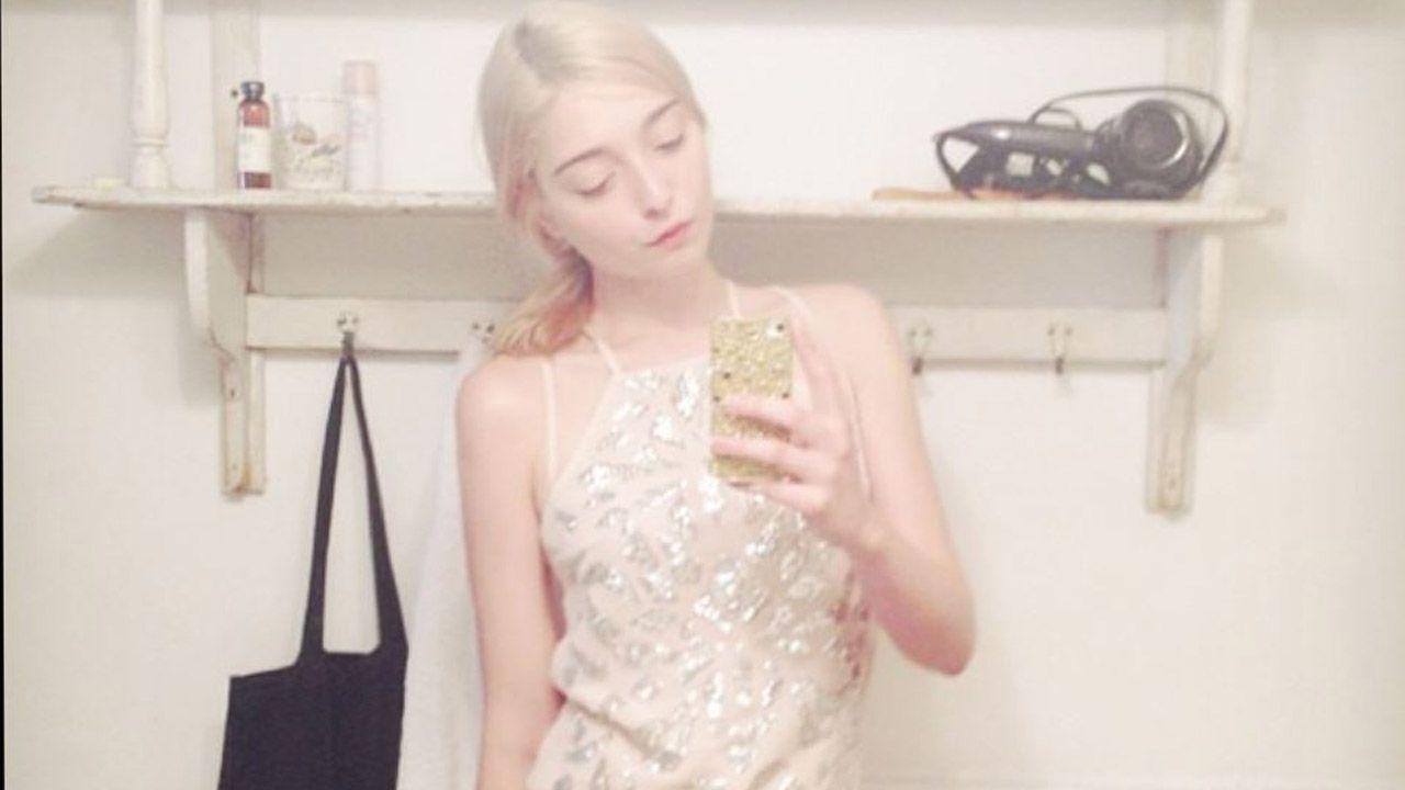 Amalia Ulman en una de sus publicaciones en Instagram
