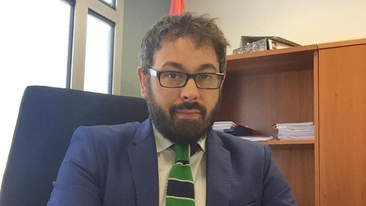 .El magistrado Julio Martínez Zahonero