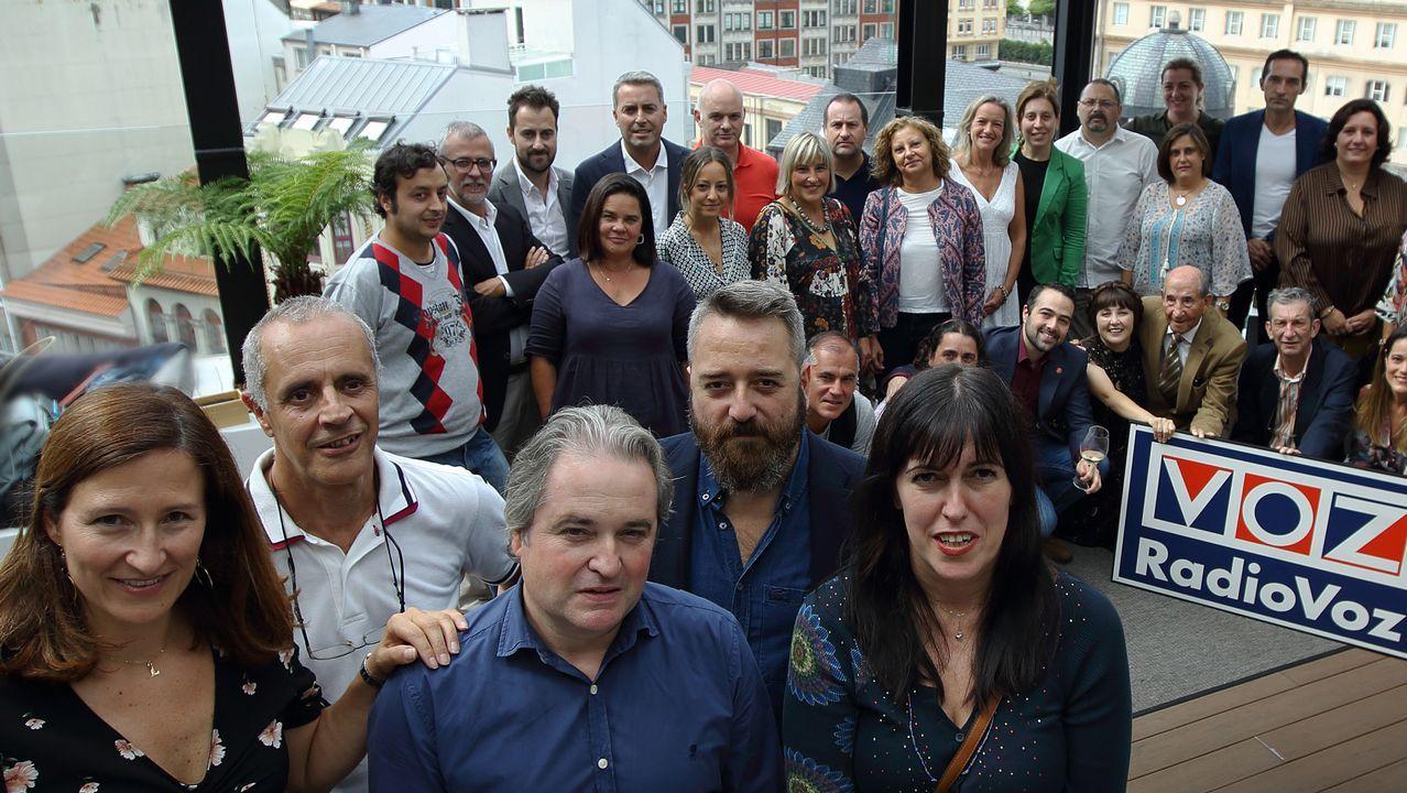 .VOCES DE A CORUÑA RADIO VOZ PRESENTACIÓN NUEVA TEMPORADA
