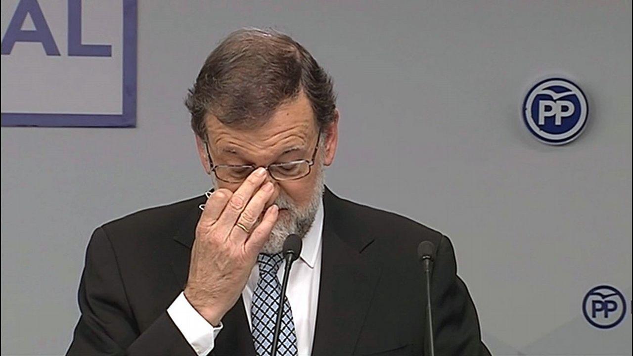 El PP se embarca en la búsqueda del sucesor de Rajoy.El presidente del Gobierno: Pedro Sánchez
