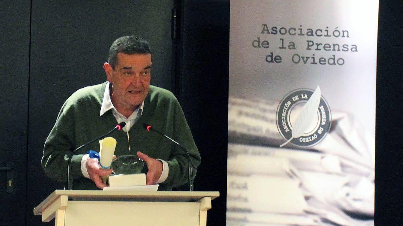 José Antonio Bron, expresidente de la Asociación de la Prensa de Oviedo (APO).José Antonio Bron, expresidente de la Asociación de la Prensa de Oviedo (APO)