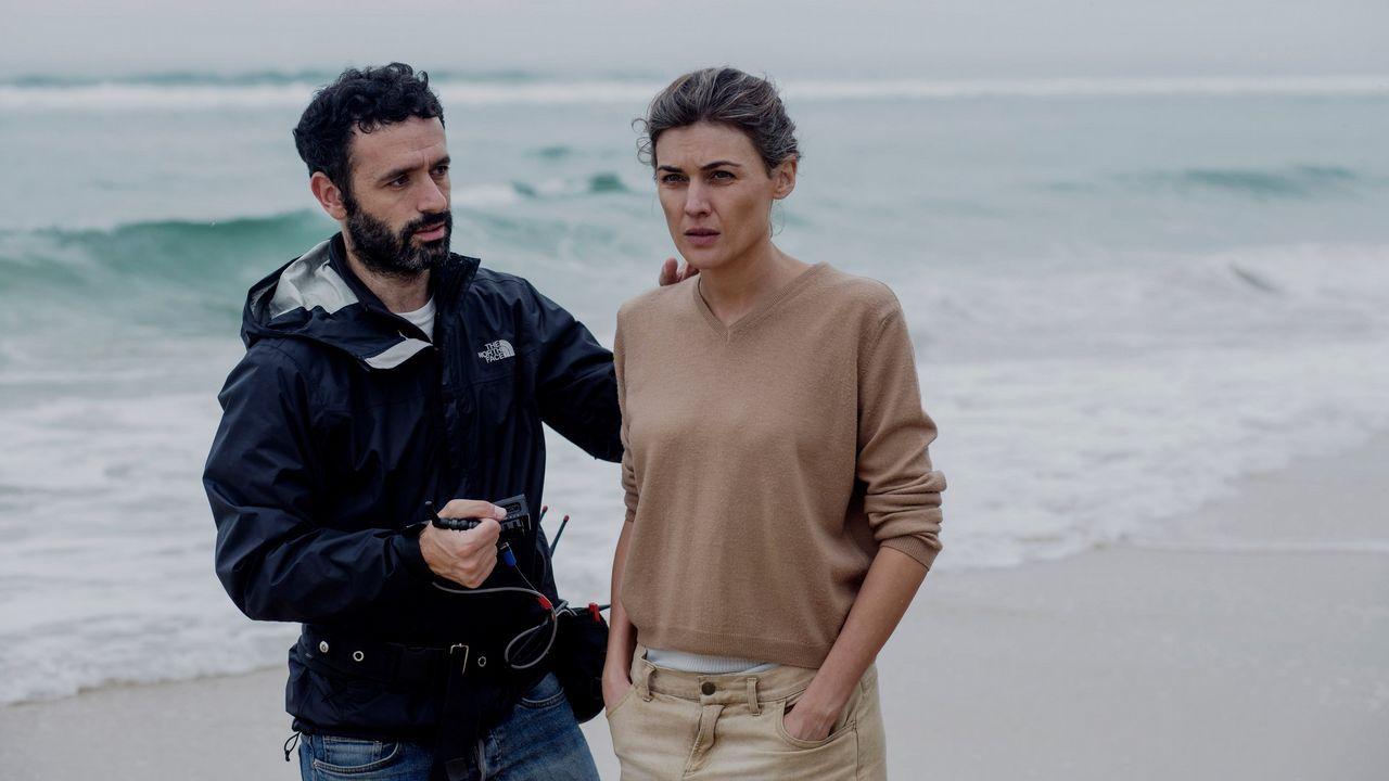 «Dolor y gloria» -Tráiler.Sorogoyen da instrucciones a la actriz Marta Nieto durante el rodaje de «Madre»