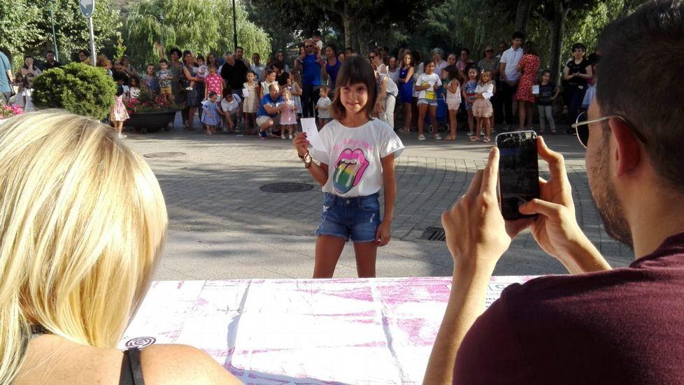 Cerca de 50 niños participaron en las pruebas para desfilar para el CCA de O Barco