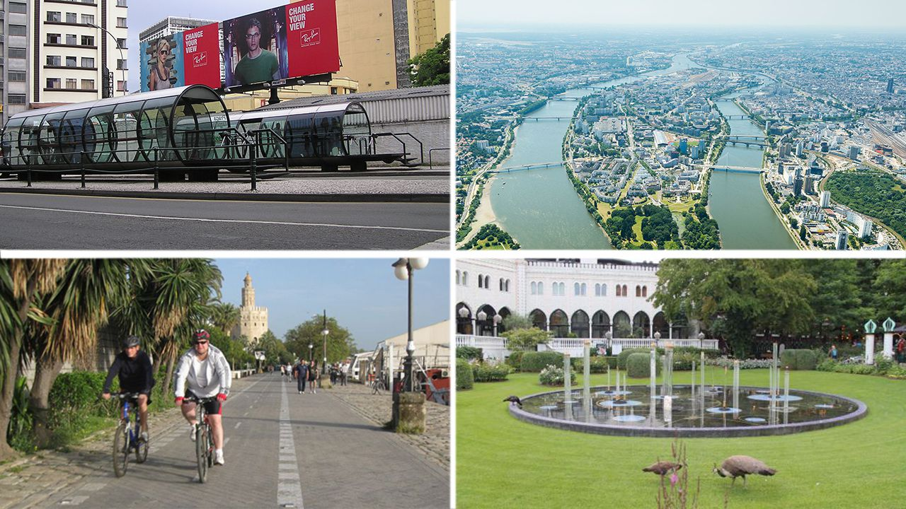 Curitiba, Nantes, Sevilla y Copenhague