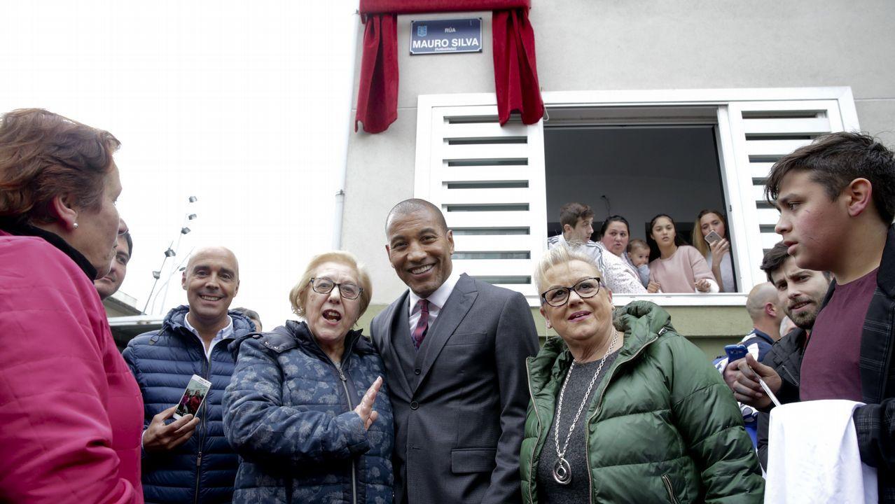 La inauguración de la calle Mauro Silva, en imágenes.