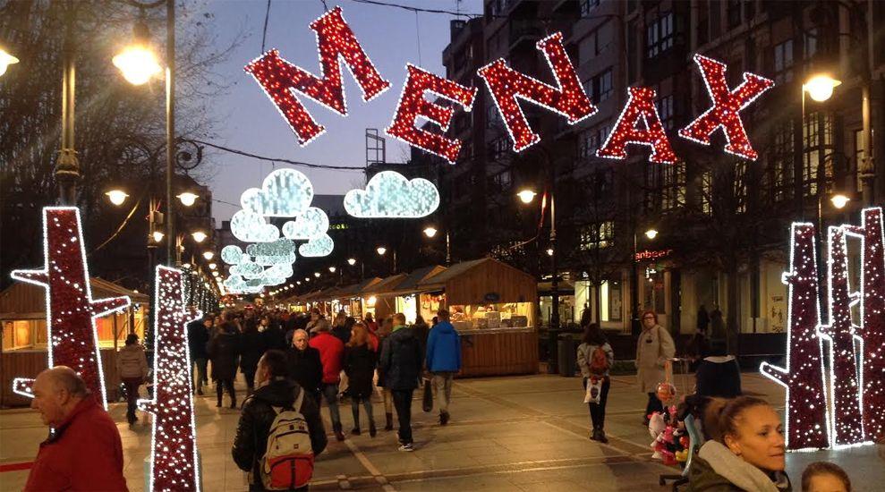 Mercadillo de Navidad MeNaX en Gijón