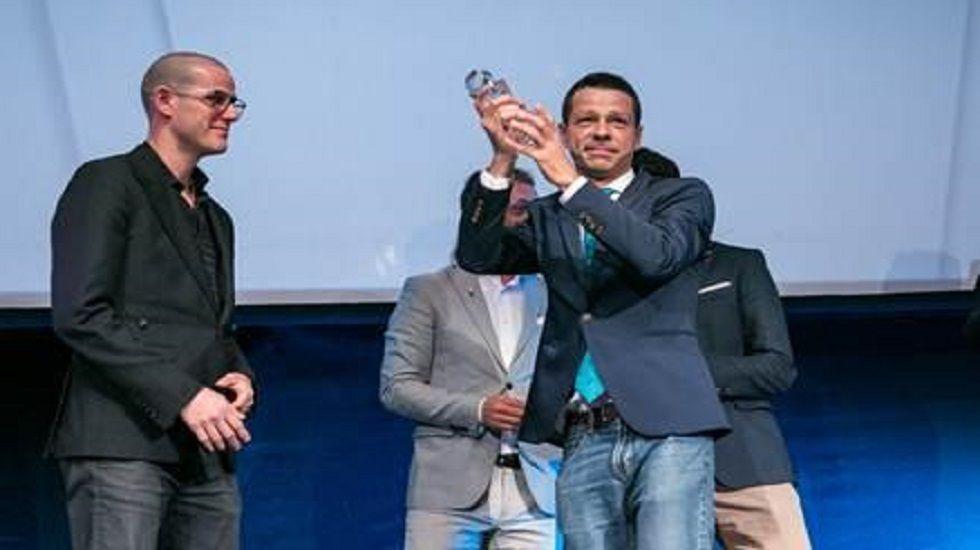 Caos en el aeropuerto de Cancún. Adeline Rucquoi y Javier Fernández Conde, en la conferencia inaugural del Simposio.
