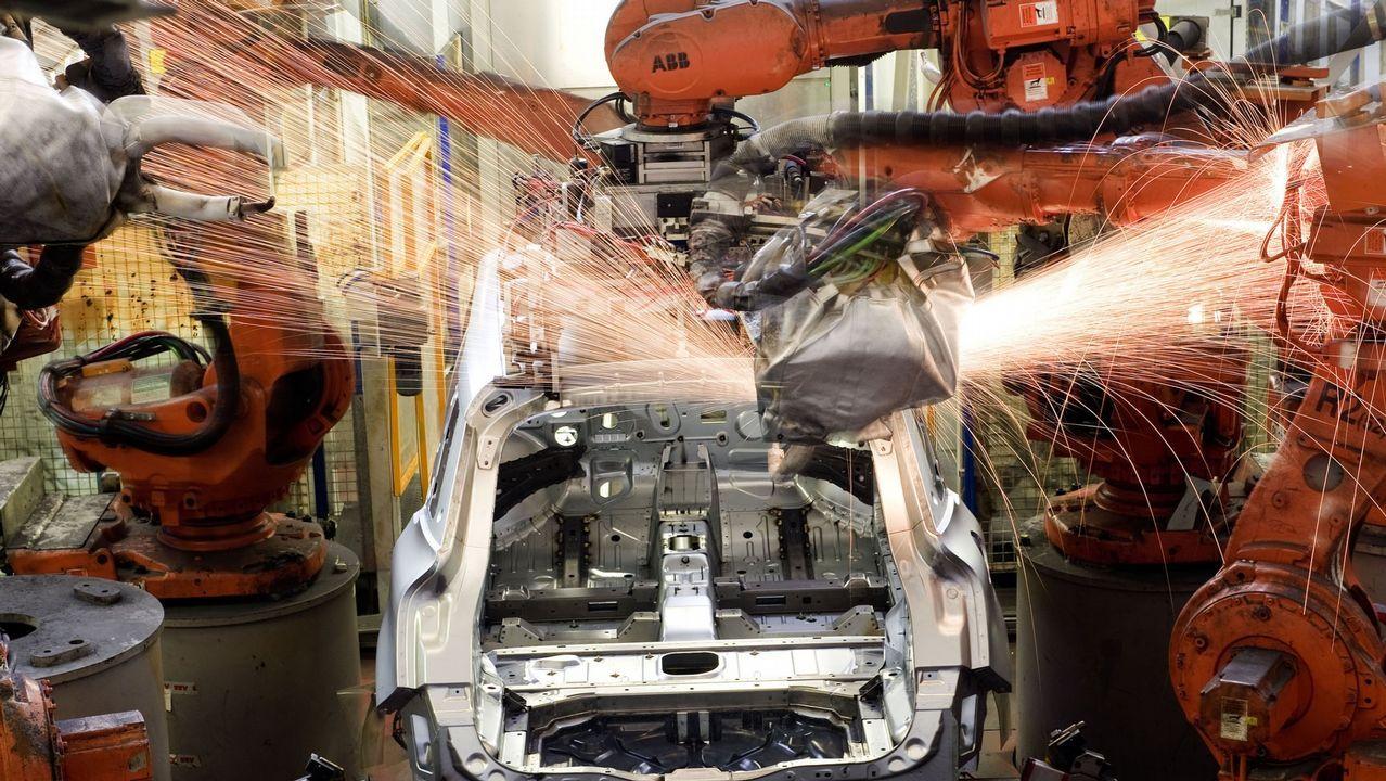 Cadena de montaje de PSA Citroen Vigo