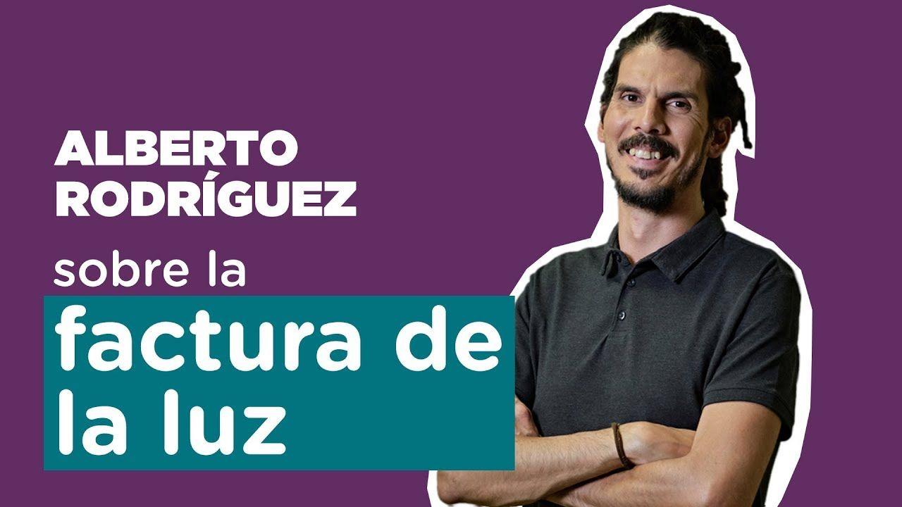 Alberto Rodríguez: «No pagamos la energía al precio que cuesta producirla».Iglesias llegó al debate de Atresmedia en taxi
