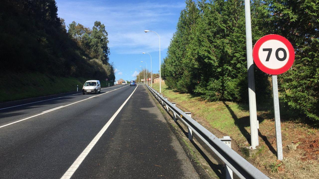 Fallece una mujer en un accidente de tráfico en Portas