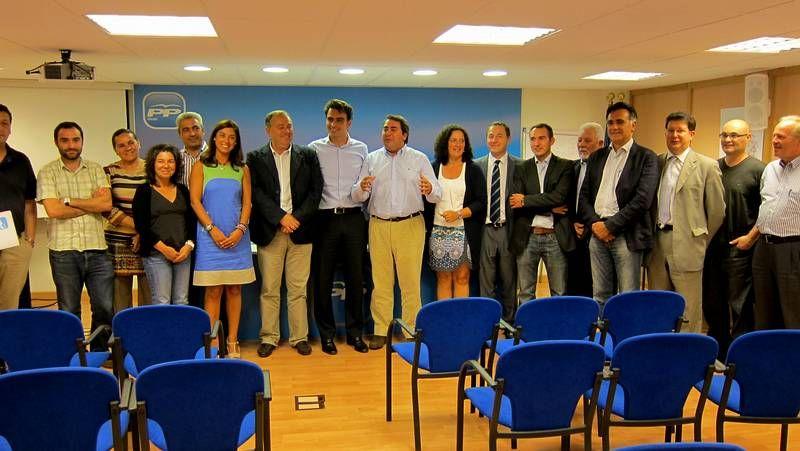 El comité provincial se reunió ayer en la sede del partido en A Coruña.