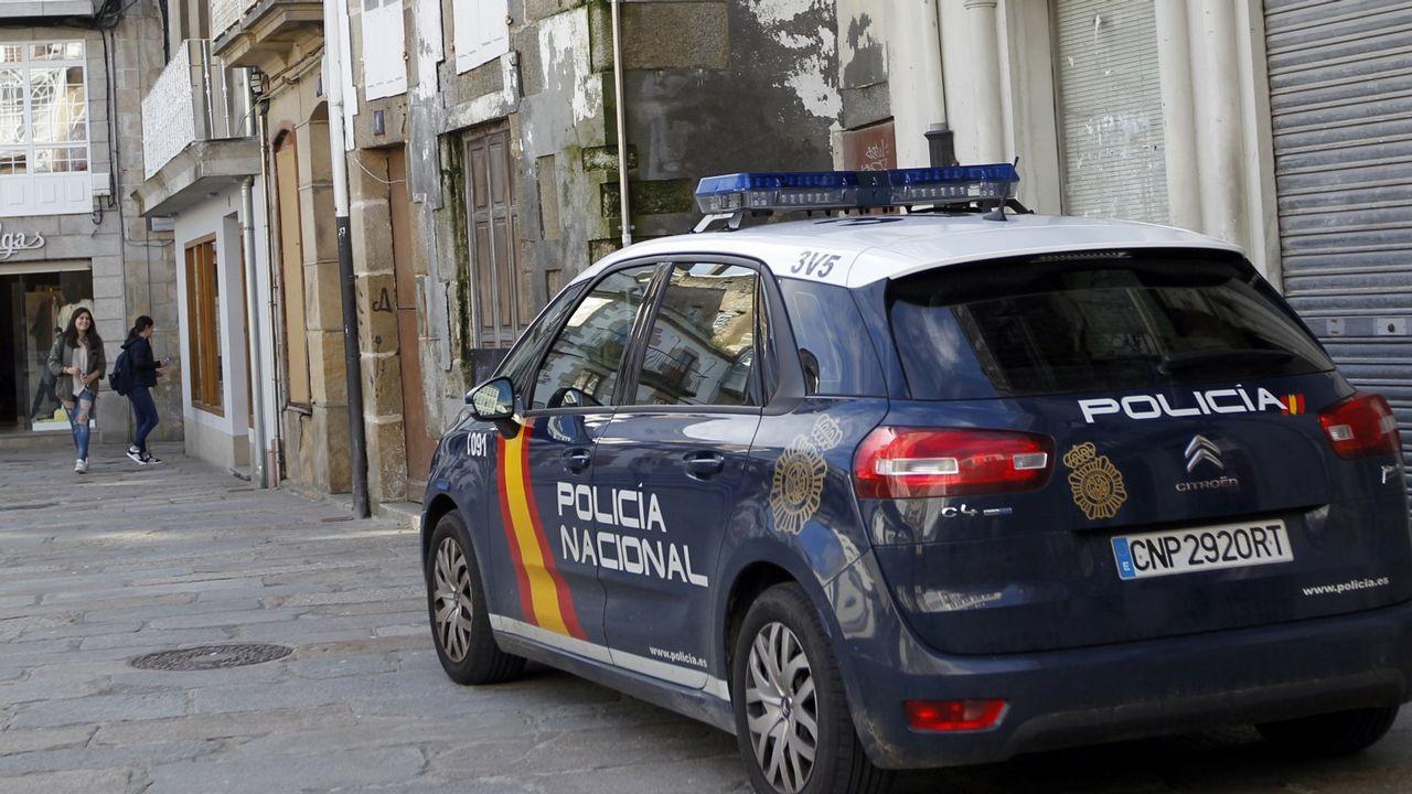 .Imagen de archivo de un coche de la Policía Nacional
