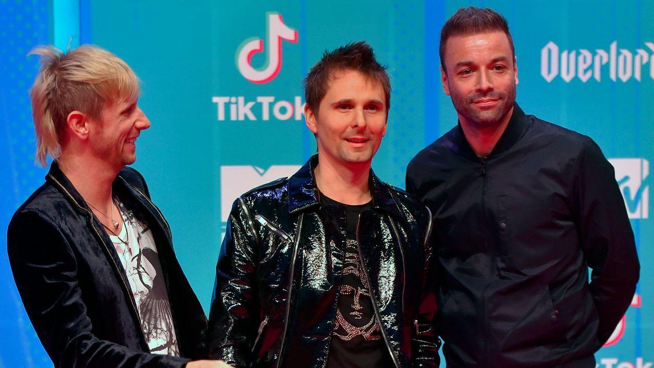 Los integrantes de Muse