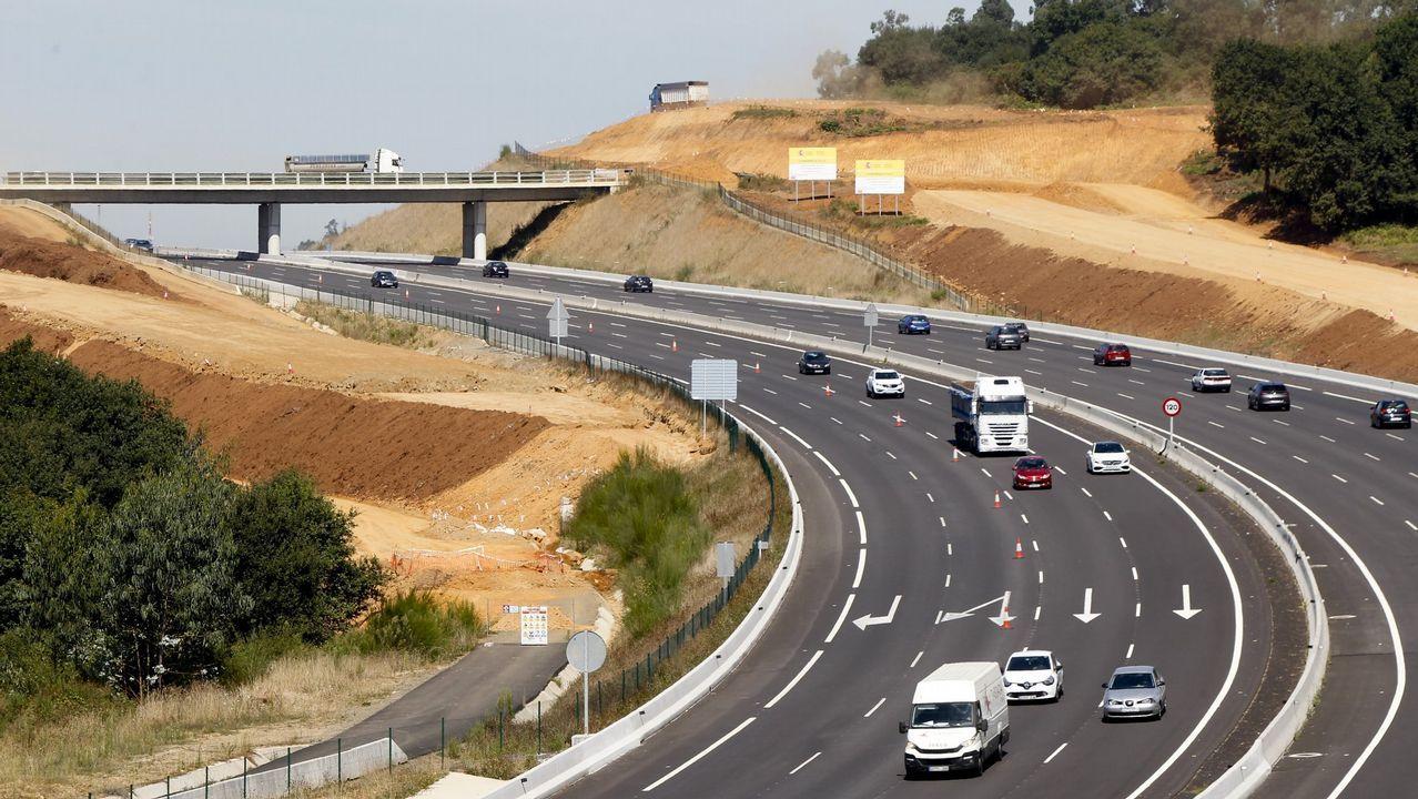 El Congreso vota hoy a favor de iniciar la transferencia de la AP-9 a Galicia.El puente se liberará en los próximos días de la maquinaria utilizada en su ampliación