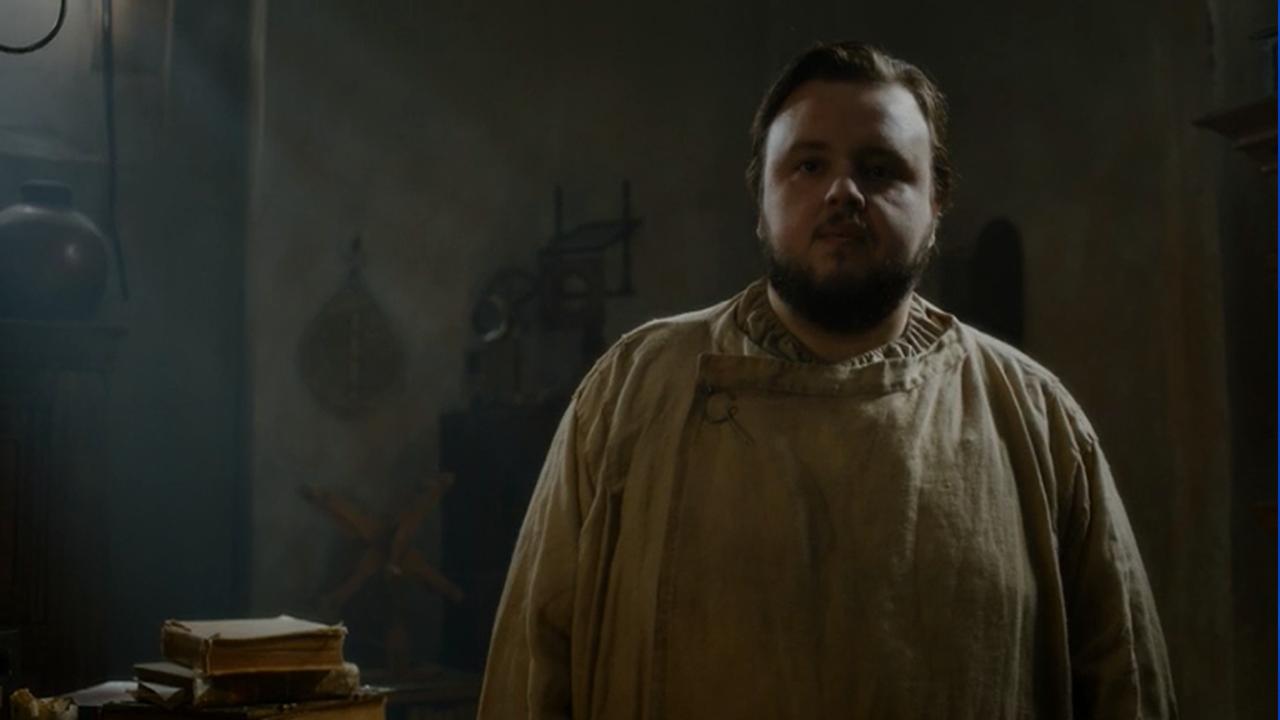 Sam en el episodio 7x05 de Juego de Tronos