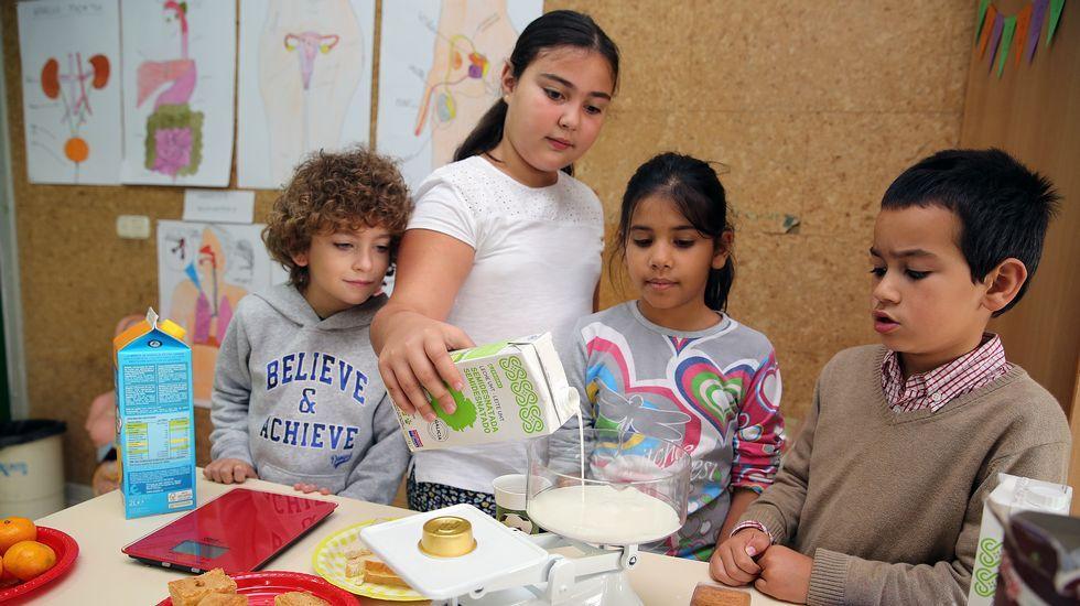 .¿Y esto para qué me sirve? La visión práctica del aprendizaje permite a los alumnos sacar provecho de lo que estudian, como el diseño (y degustación) de  un riquísimo y completo desayuno.
