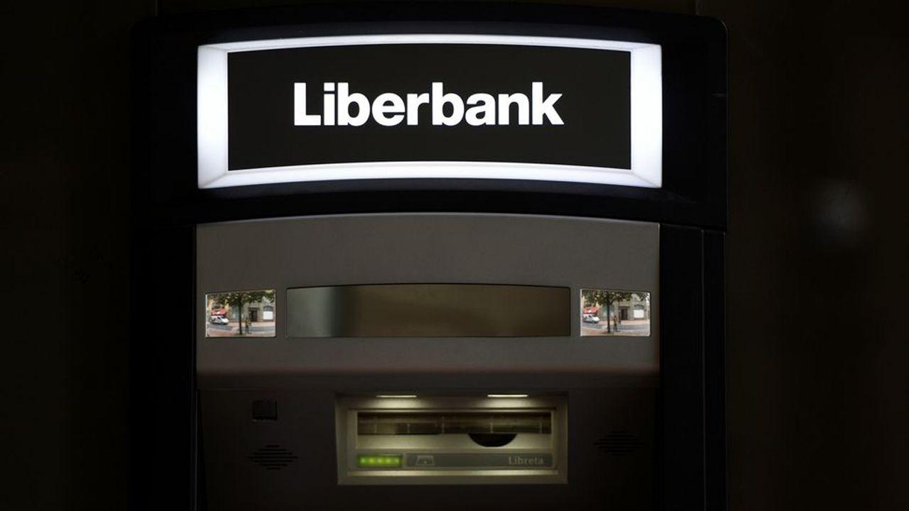 Pablo Junceda.Cajero de Liberbank