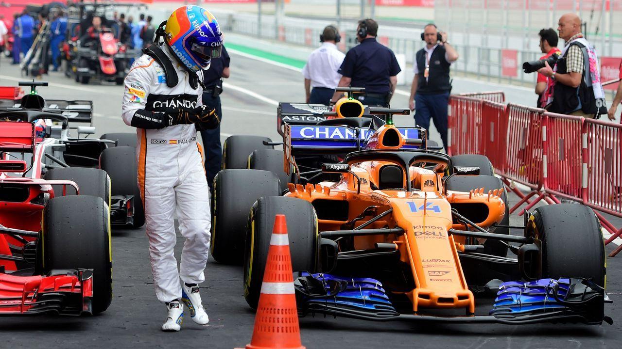 Fernando Alonso, en Mónaco