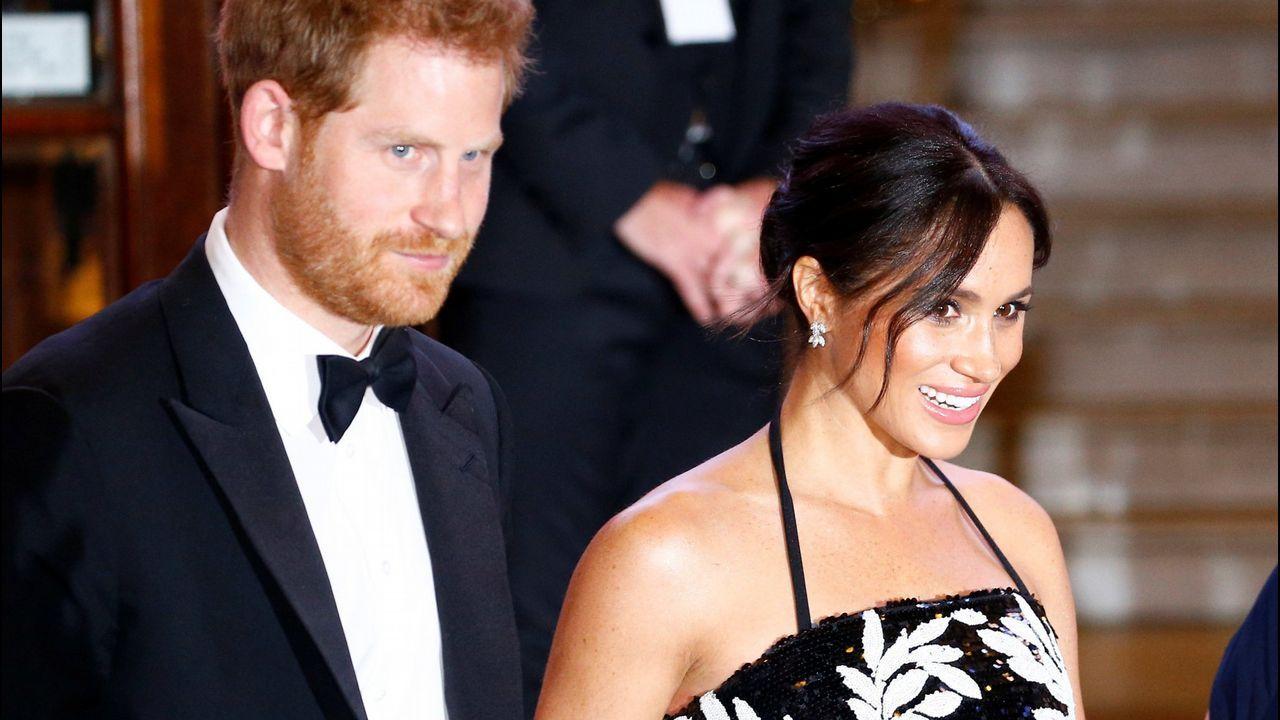 Amal y George, en la boda de Meghan Markle y el príncipe Enrique