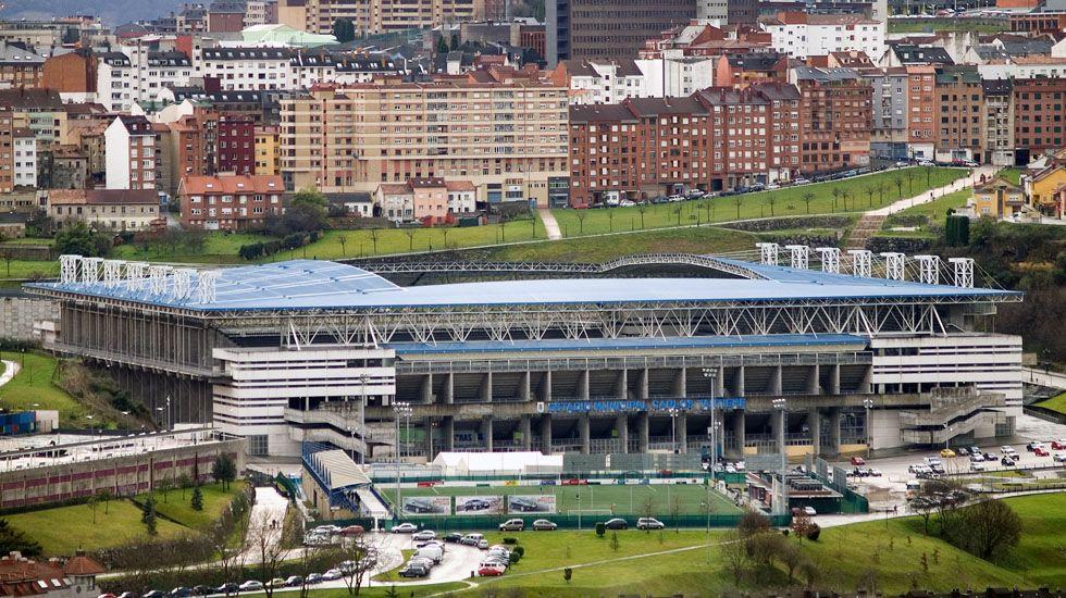 Estadio Carlos Tartiere.Estadio Carlos Tartiere