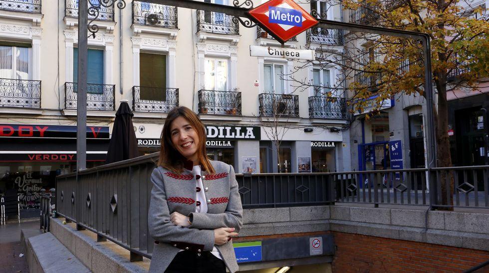 Presentación de los candidatos a alcaldes del PP en las 7 ciudades.Fátima Fernández fue enfermera escolar en Madrid, aunque ahora ha vuelto a los hospitales