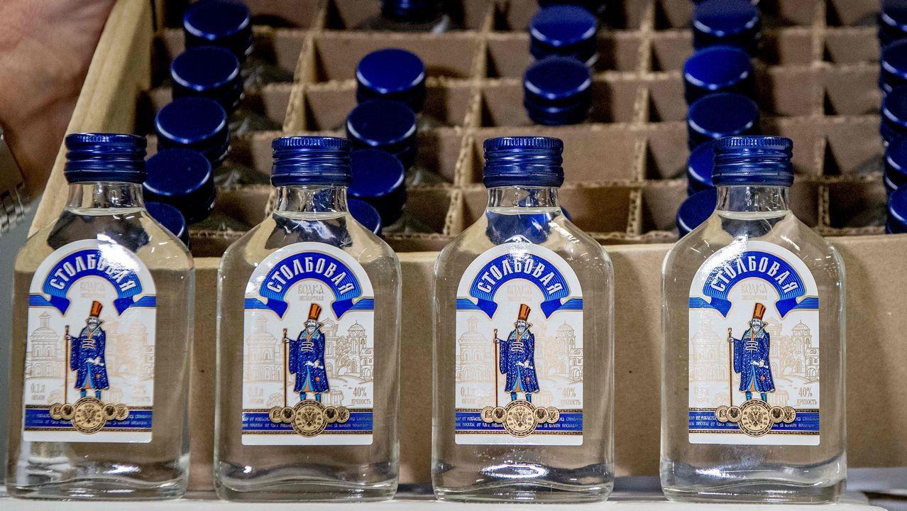 Las botellas fueron intervenidas en el puerto de Roterdam