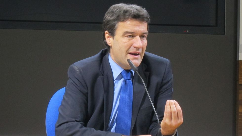 Gabino de Lorenzo.Alberto Mortera