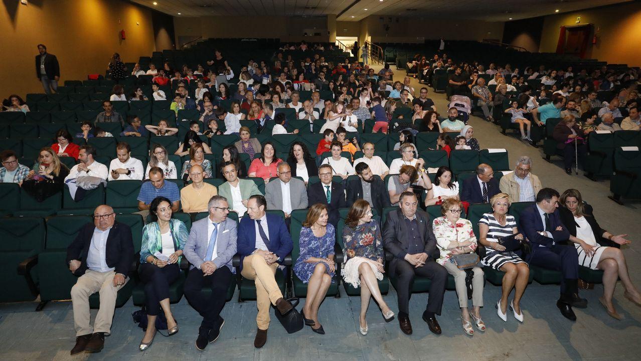 La gala de aniversario del Colegio Cervantes.