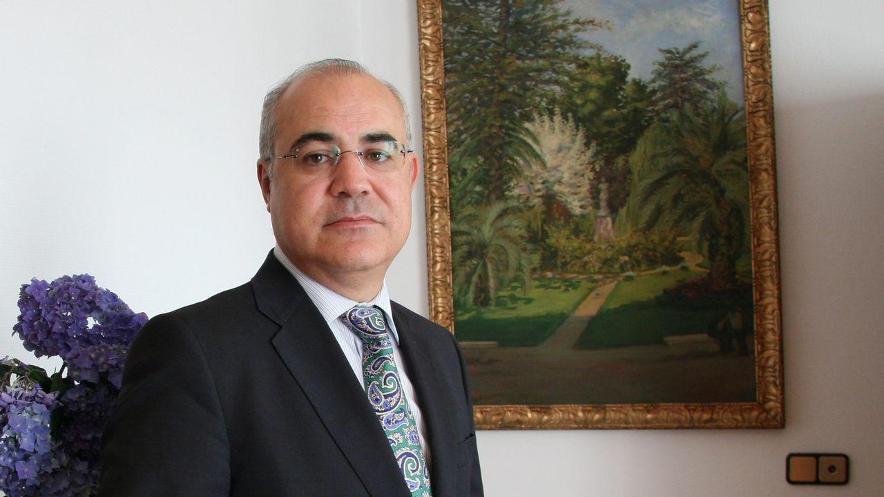 .Pablo Llarena, en el Pazo de Mariñán en el 2013