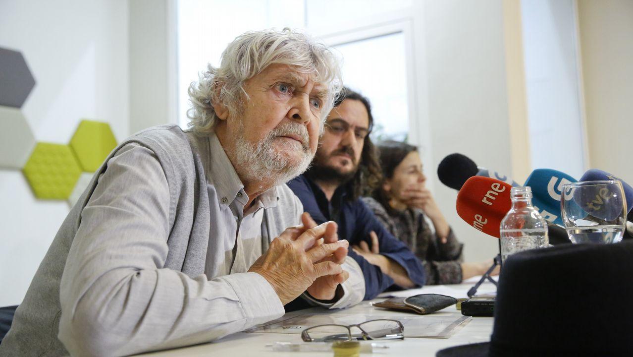 Arrimadas anuncia su candidatura por Barcelona para el 28A.Pablo Iglesias, Pedro Sánchez, Albert Rivera, Pablo Casado y Santiago Abascal, en imágenes de archivo