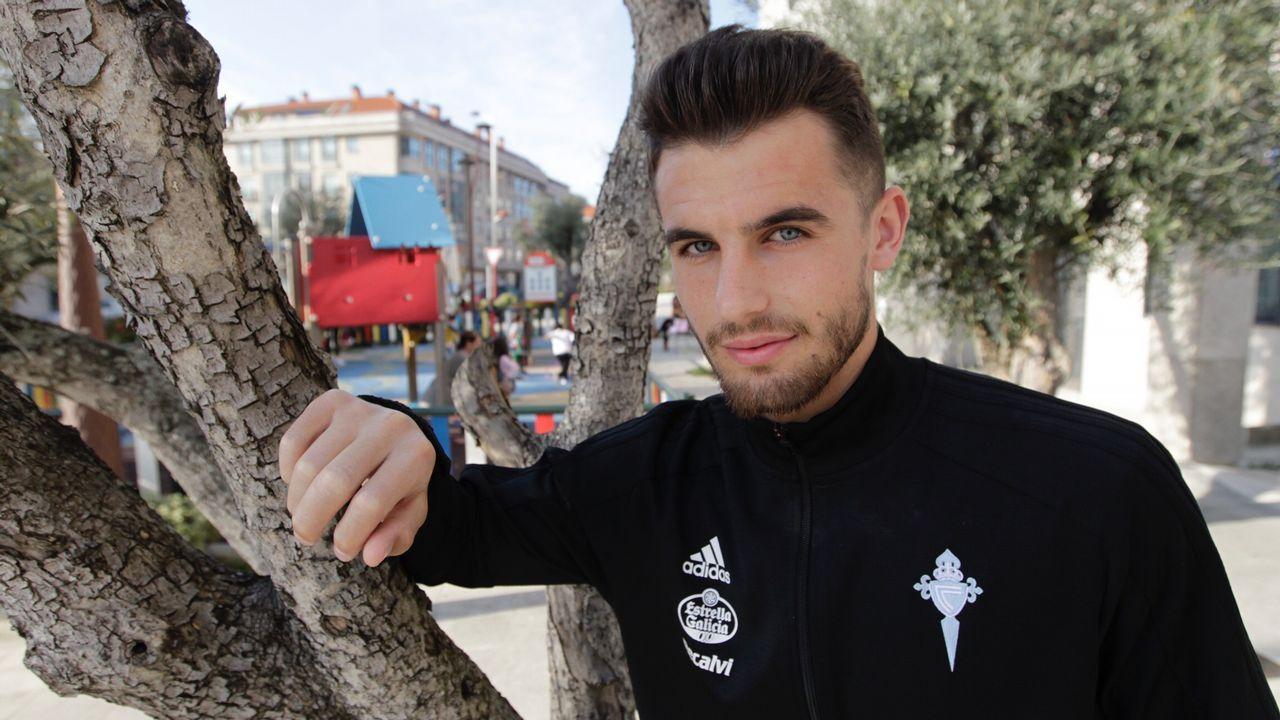 Iván Villar: «Es una satisfacción que los tres porteros del Celta seamos de casa»