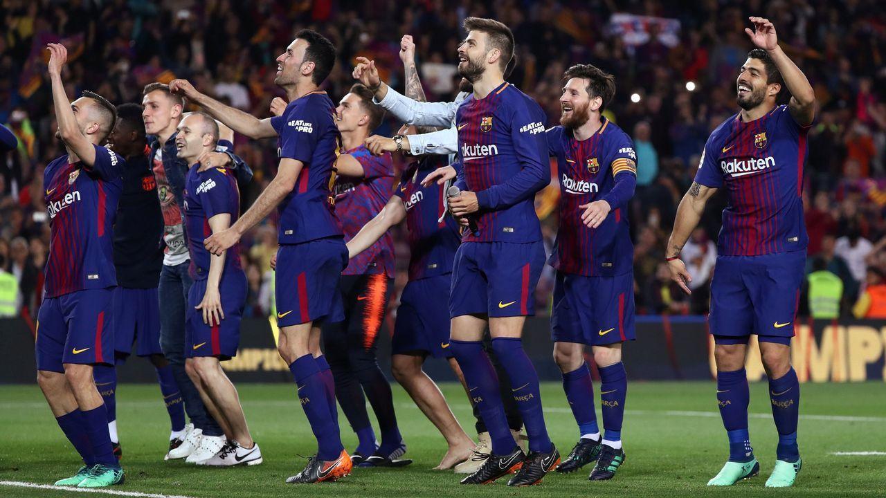 Guardiola se quita el sombrero ante el Real Madrid.Messi, con la selección argentina