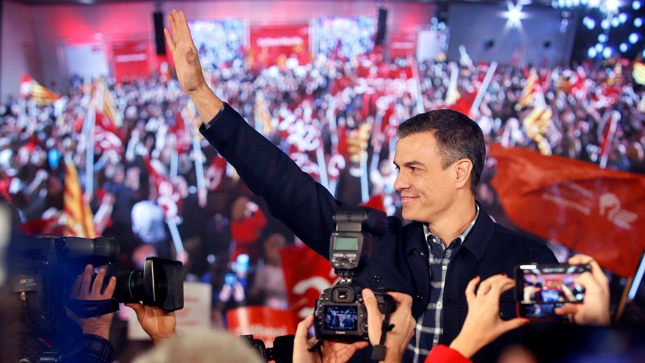 Pedro Sánchez arranca hoy el curso político, marcado por las elecciones municipales, autonómicas y europeas de mayo, con un gran acto en Barcelona