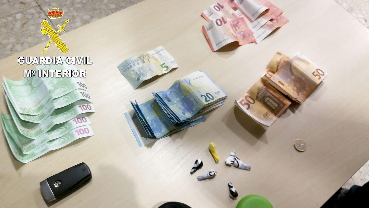 Cae una red que distribuía desde Vilagarcía cocaína y heroína por España.El líder del cártel mexicano de Sinaloa, Joaquin «El Chapo» Guzmán