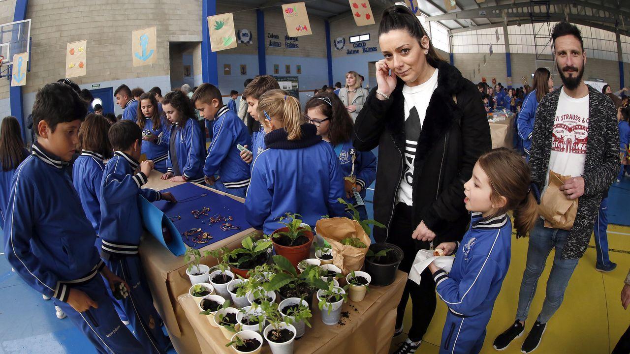 ¡Búscate en la feria del medio ambiente del colegio Jaime Balmes!.Voz Natura