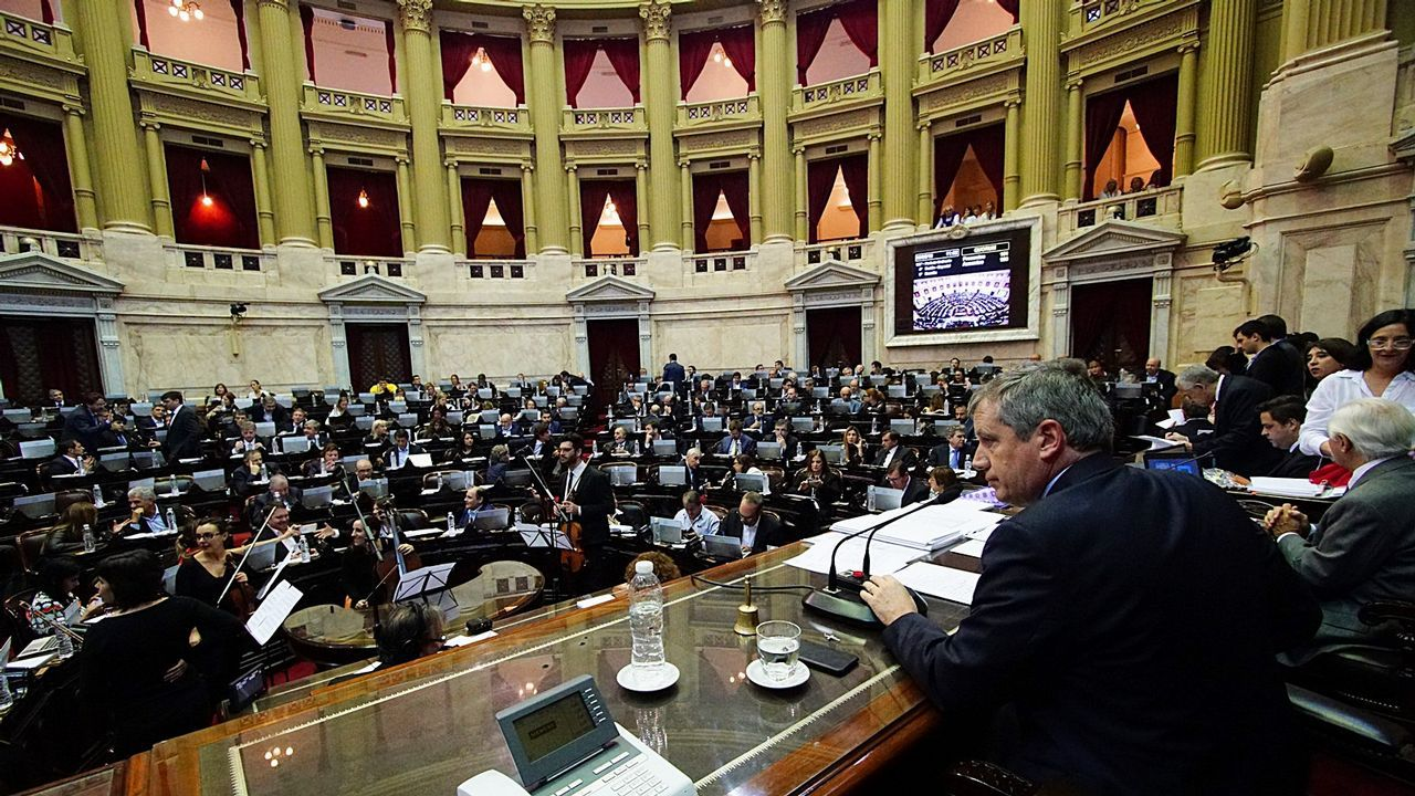 La directora del FMI a un ministro argentino: «Estás corto de mujeres».Congreso de los Diputados argentino
