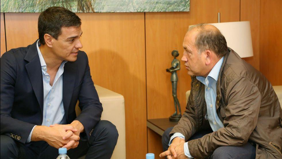 .Pío García Escudero, Pedro Sanjurjo y Javier Fernández