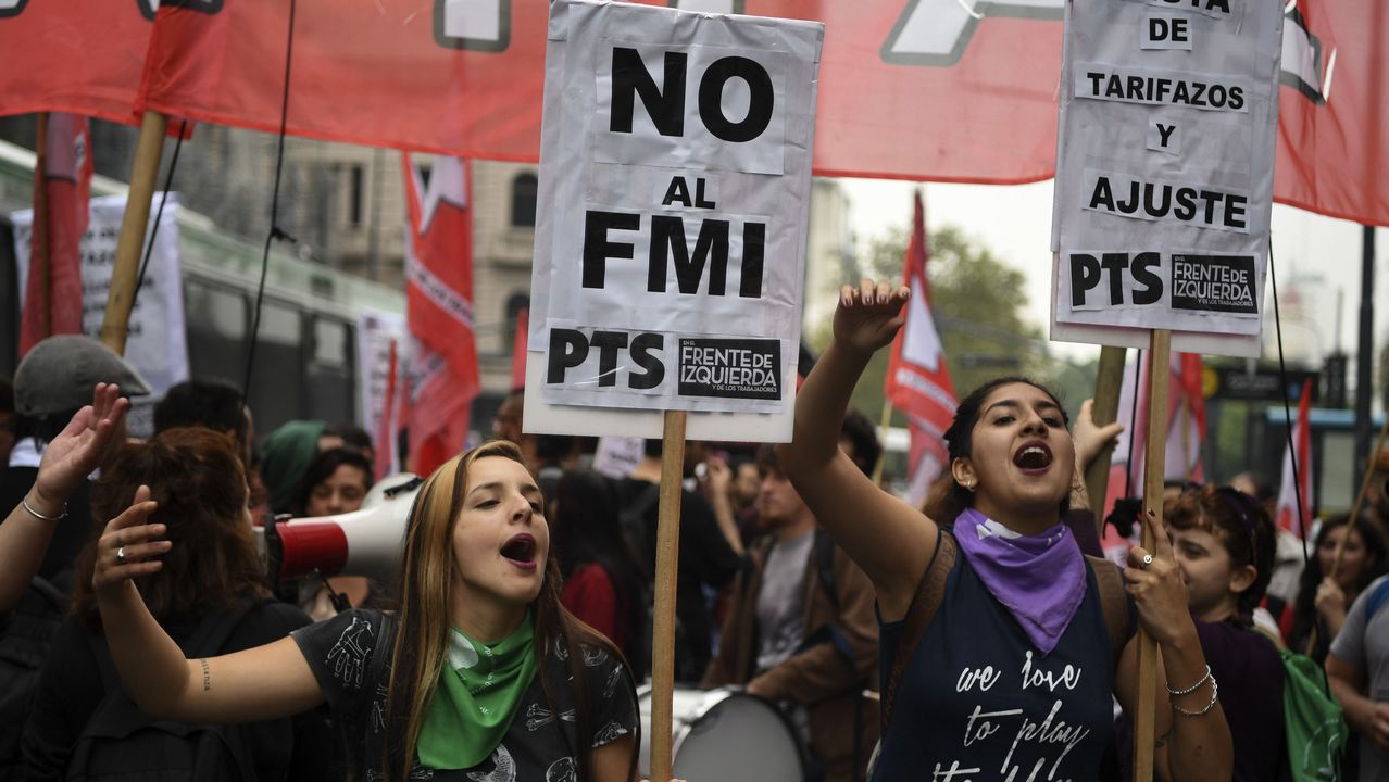 La directora del FMI a un ministro argentino: «Estás corto de mujeres».Graciela Pereira, emigrante gallega en Argentina