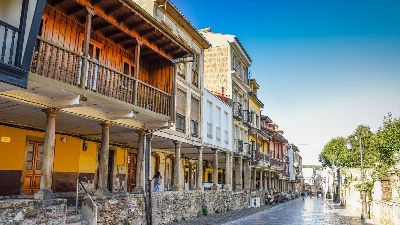 Casco histórico de Avilés