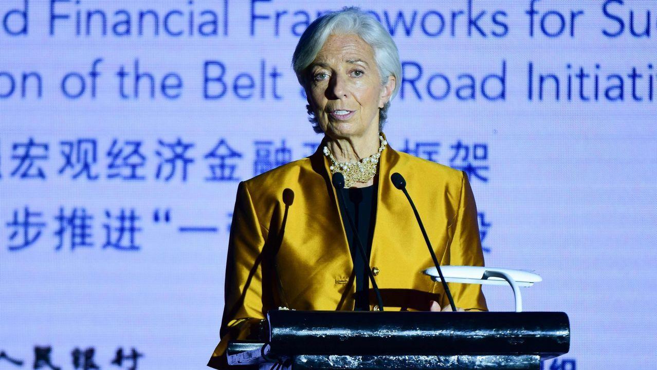 La directora del FMI, la francesa Christine Lagarde