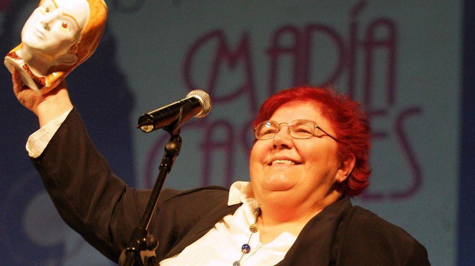Dorotea Bárcena recibió el Premio María Casares en el año 2006
