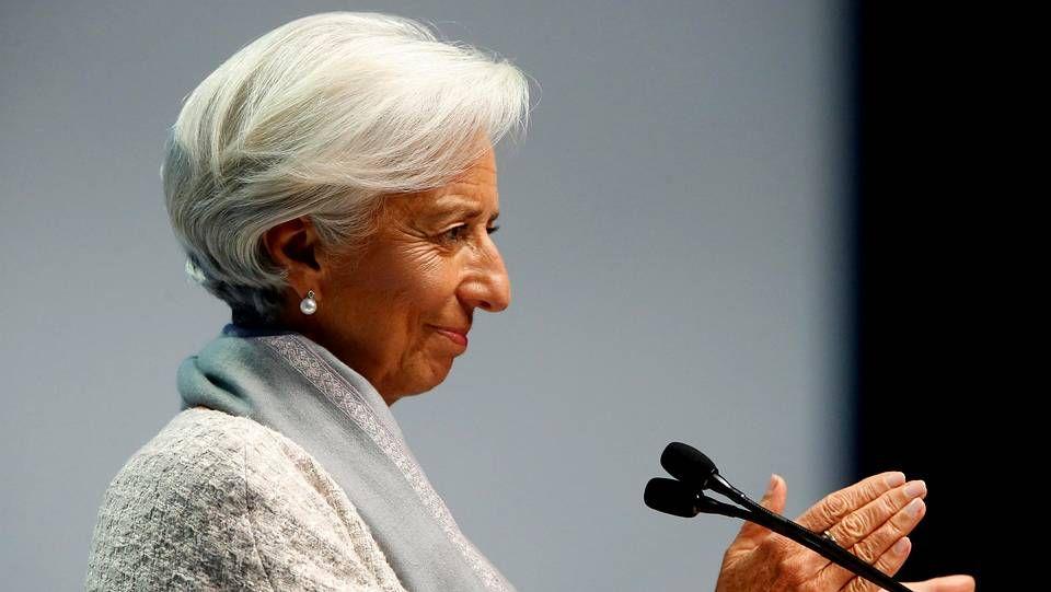 Francisco se entrevistó con Lagarde en el Vaticano.