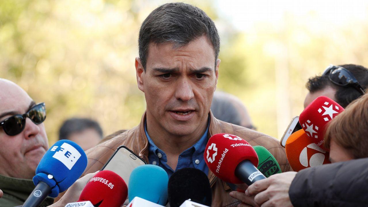 Pedro Sánchez sobre Catalá: «que aclare su acusación y si no, que esté callado».