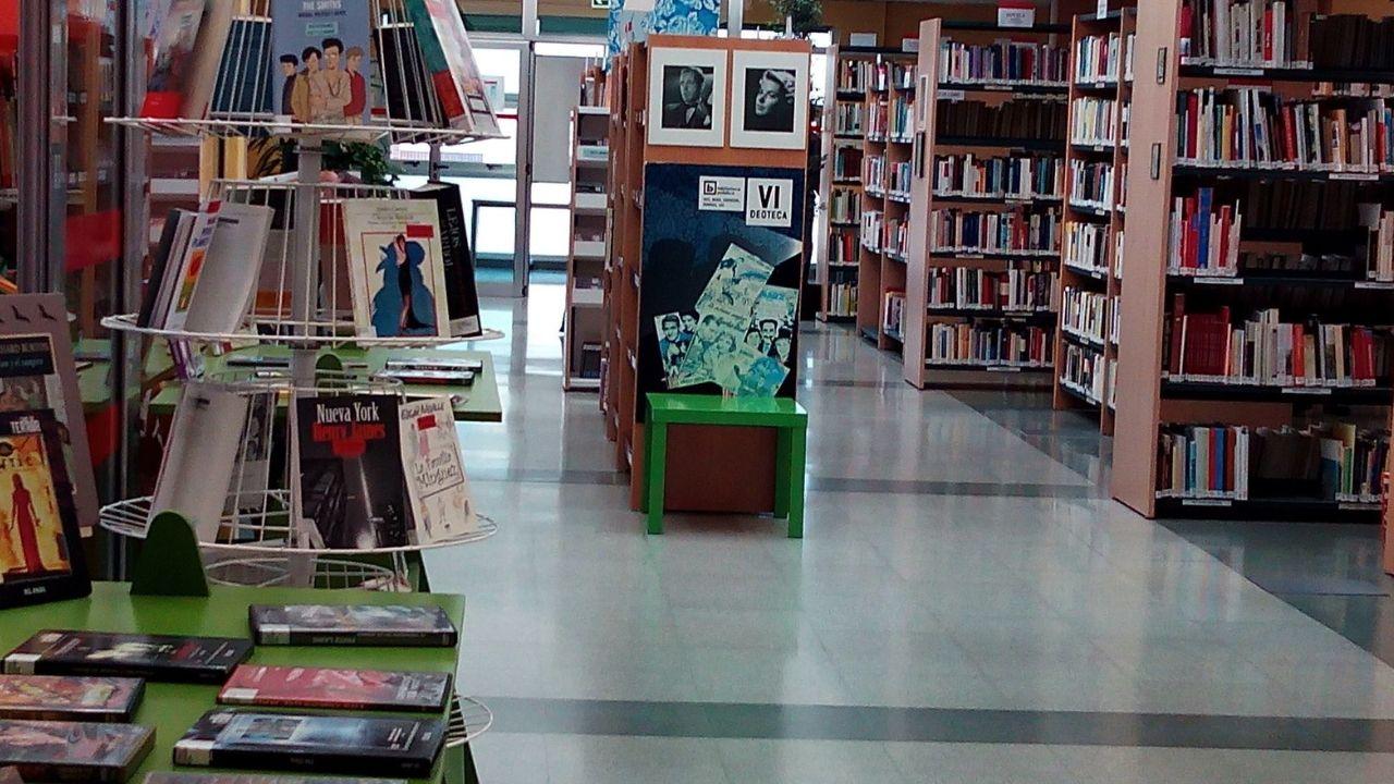 Juzgados Oviedo.Una de las bibliotecas municipales de Gijón