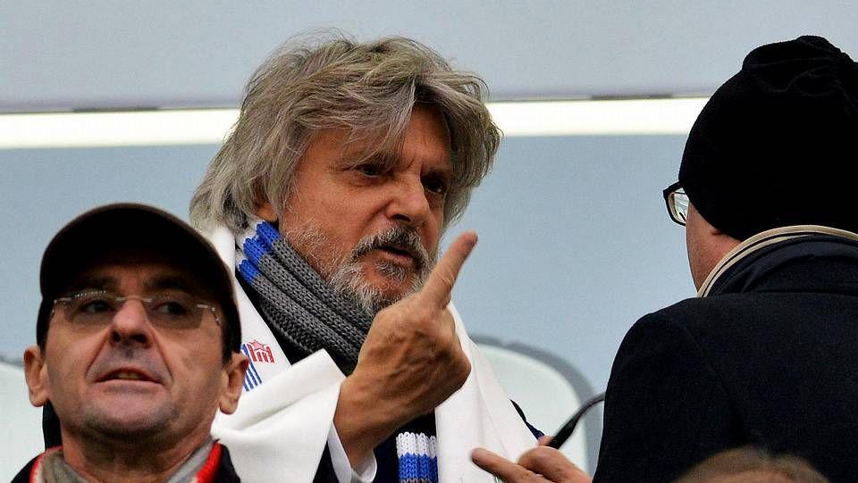 Massimo Ferrero, presidente de la Sampdoria