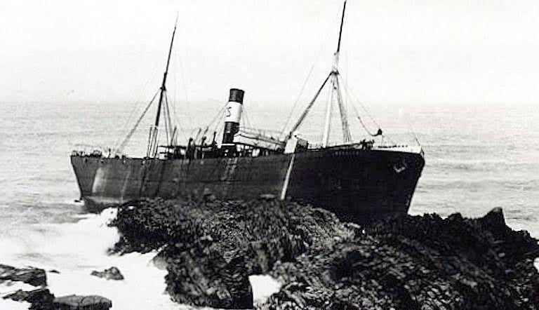 Un naufragio similar al del buque noruego Skuld Stavanger que protagoniza esta crónica histórica.