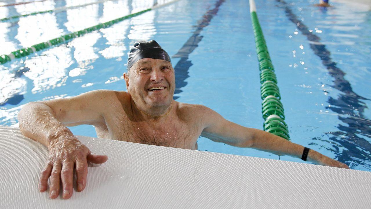 «A los 91 se llega fácil nadando a diario»