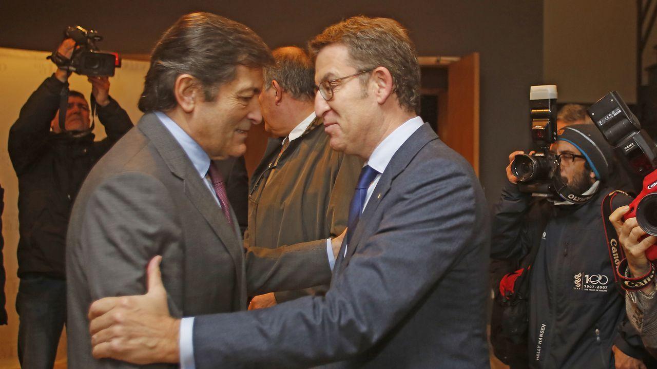 Galicia y Asturias reivindican la «conciencia del noroeste».Décimo de Lotería de Navidad