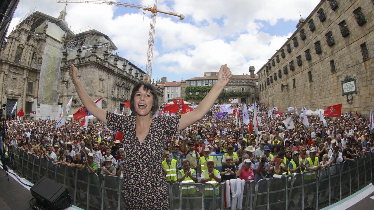 BNG y En Marea celebran de una forma muy diferente el Día da Patria